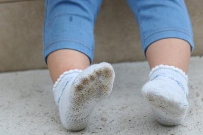 靴下汚れとミラブル
